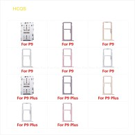Micro SD Sim Card Tray Reader Container Holder Replacement Parts For HuaWei P9 Plus Socket Slot Adapter Connector