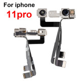 Front Flex Cable Replacement Parts For iPhone11 pro With Facing Small Camera Light Proximity Sensor