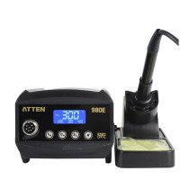 AT980E 80W Digital & Lead-free Station LCD High performance adjustable temperature Soldering iron station tools