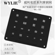 Wylie WL50 WTR4905 WTR4605 BCM4343 WTR3905 WTR3925 BCM4345 WTR2605 WTR2100 WFR1620 WTR1605 WFR2600 WTR2955 BGA Reballing Stencil