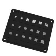 WL-63 MT6357V MT6357CRV MT6358W MT6371P MT6355W MT6370P MT6356W Power MT PM IC Chip BGA Reballing Stencil