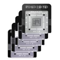 WL BGA Reballing Stencil Kit for iPhone 6G 6S 7G 8G X XS XSMAX A7 A8 A9 A10 A11 A12 A13 CPU Lower Soldering