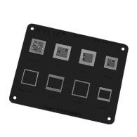 WL-57 MSM8956 MSM8976 MSM8996 MSM8998 MSM8992 CPU RAM IC Chip BGA Reballing Stencil For Huawei phone