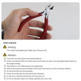 BEST-2D Hand Tools Chrome Vanadium Steel Wire Cutter Diagonal Cutting Pliers