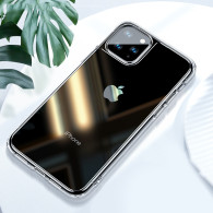 Fully Transparent Scratch proof case for iphone 12 mini 11 pro max super Shockproof TPU Bumper with anti-drop hard back