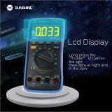 SUNSHINE DT-17N high precision lcd display Digital Multimeter 35/6 automatic instrument AC DC voltage current resistance measure