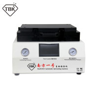 TBK-808 LCD Touch Screen Repair Automatic Bubble Removing OCA Vacuum Laminating Machine with automatic lock gas