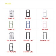 Micro SD Sim Card Tray Socket Slot Adapter Connector Reader For HuaWei P10 Lite Container Holder Replacement Parts