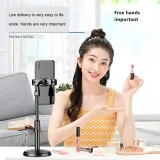 Quick hand mobile phone tiktok support desktop support Kwai lazy lazy live webcam telescopic disc artifact