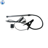WYLIE WL-510 Portable Clip Long Tube USB LED Eye Protection Table Lamp for Electronic Mobile Phone Repairing