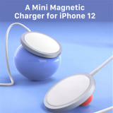 15W Original Magnetic Wireless Charger for iPhone 12 Pro Max 12pro Qi Fast Charger for iPhone 12 Mini USB C PD Adapter Magsafing
