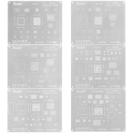 BGA Reballing Stencil Kit Set Solder Template for iPhone 11 pro xs max x 8 8p 7 6s 6 CPU RAM POWER WIFI U2 AUDIO CHIP IC
