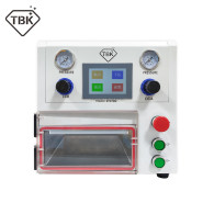 TBK-108P LCD OCA Lamination Vacuum Laminating Machine for curved straight screen and Pad