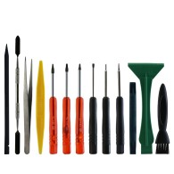 BEST-602 17 in 1 Screwdriver Spudgers Mobile Phone Opening Repairing Tools Kit for Smart Phones iPhone