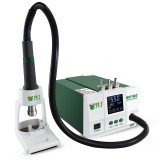 BST-863 NEW Technology High Power 1200W Digital Touch Screen Display Automatic BGA SMD ESD Hot Air Rework Solder Station