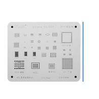 High quality IC Chip BGA Reballing Stencil Kits Set Solder Template for iPhone 11 pro Max XS XR X 8 7 6S 6 Plus