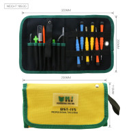 BST-115 Open Pry Mobile Phone Repair Screwdrivers Sucker Hand Tools Set Kit