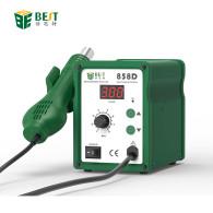 BEST 858D Digital Lead-free Heat Soldering Welding Machine And Heat Hot Air Gun Rework Desoldering Station