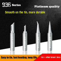 WYLIE 935 Series Platinum Quality For 900M-T-I/IS/K/SK 936 Soldering Iron Universal Replaceable Welding Tips