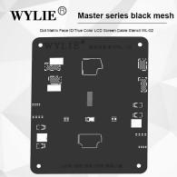 WYLIE Dot Projector Matrix Face ID Tin Template For iPhone X XS 11 11Pro MAX BGA Reball