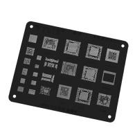 WL-52 MSM8909 MT6595 SDM660 MSM8939 MSM8940 MSM8998 MT6750 MT6795 MT6797 CPU Power IC Chip BGA Reballing Stencil for OPPO VIVO