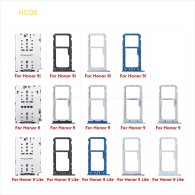 Micro SD Sim Card Tray Socket Slot Adapter Connector Reader For HuaWei Honor 9 Lite 9i Container Holder Replacement Parts