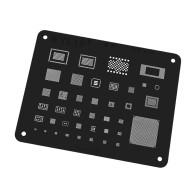 Wylie For IPad Pro 9.7 10.5 12.9 BGA Stencil CPU RAM Wifi Nand Flash Baseband Power USB Audio 339S00045 IC Reballing Template