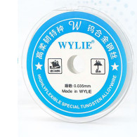 Wylie 0.04mm Highly Flexible Special Tungsten Alloy Wire Flying Line For Mobile Phone CPU Fingerprint Touch Dedicated Repair