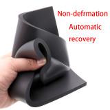 Special black pad sponge board for pressing screen super soft pad black universal silicone pad for machine magic pad