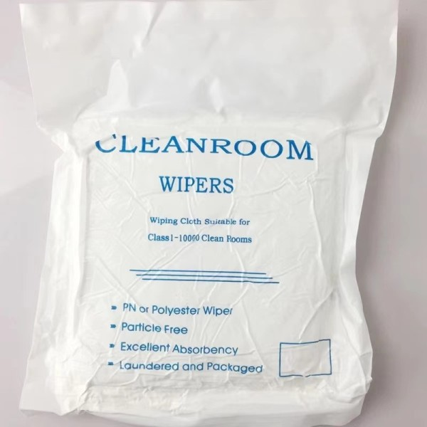 Cleanroom Wiper High Quality 100% Polyester Lint Free Cleanroom Wiper