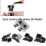 Rear Back Camera for All Model iphone 5 5S 5C 6G 6spplus 7 8 plus X XR XS Max 11 Pro Max Back Camera Rear Main Lens Flex cable Replacement parts