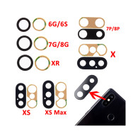 Rear Camera Lens 3M  for iPhone X XR XS MAX 8 4.7  6 6S 7 8Plus 5.5  Rear Camera Cover Lens +3M