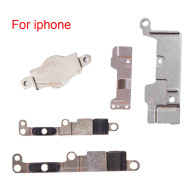 Home Button Plate For iPhone 5 6 7 8 8plus Home Button Metal Cover Clip Bracket Holder Replacement parts.
