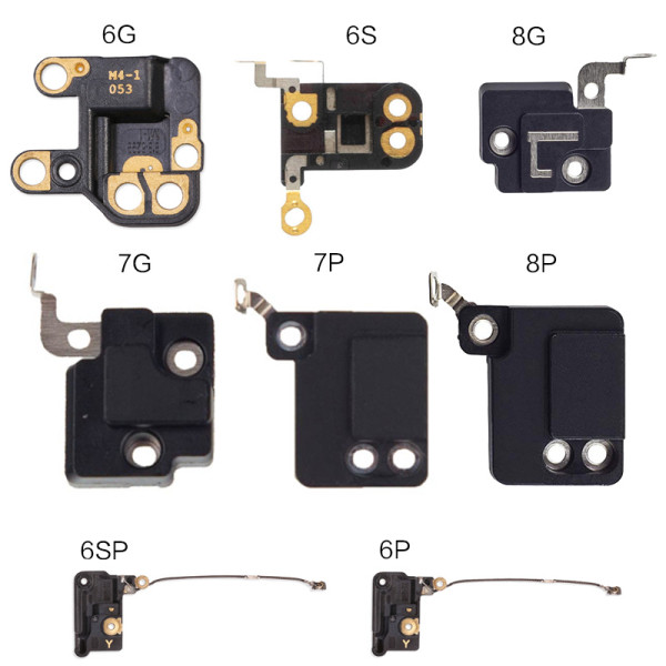 GPS Clasp for iPhone 4 4S 6 Plus 6S Plus 7 Plus Wifi Cover GPS Clasp Antenna Signal FlexBracket Replacement Parts