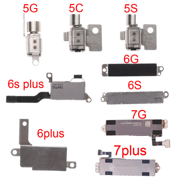 Tested Well Vibrator Vibration Flex cable For All model iPhone 6 6s 7 PLUS X XS max 11 Pro Max 12 pro max 12 Mini   Motor Replacement Mobile Phone Part