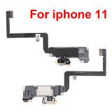 Earpiece With Proximity Light Sensor Flex Cable For iPhone X XR XS MAX 11 11pro max 12 pro max 12 mini Ear Speaker Replacement Parts