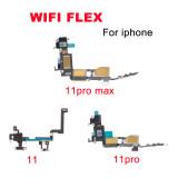 Wifi Flex Cable for iPhone 4S 5 5S 5C 6 6S 7 8 PLUS SE 5.5 X XS max 11 pro max 12 pro max 12 mini Wifi Bracket Replacement Parts