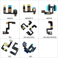 Microphones Inner MIC Flex Cable Ribbon Replacement Parts For iPad 5 6 air mini 4 2 3 4 mini 1 mini 2