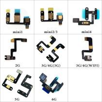 Microphones Inner MIC Flex Cable Ribbon Replacement Parts For iPad 5 6 air mini 4 2 3 4 mini 1 mini 2