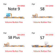 Volume Side Button Key Flex Cable For Samsung Galaxy S7 S8 S9 NOTE8 NOTE 9
