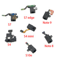 Earphone Headphone Audio jack Flex Cable For Samsung Galaxy S7 G930 G930F S8 S9 S7edge S8edge S9edge S10 Headset Socket Jack Port