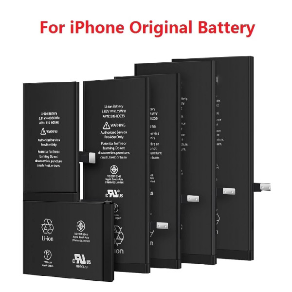 OEM No LOGO  for iphone battery  0 cycle count quality for iphone batteries fast shipping