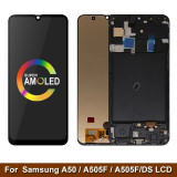 OED For Samsung Galaxy A20 A30S A31 A50 A70 A71 oled Display with Touch Screen Digitizer Assembly+Frame