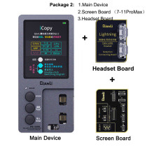 Qianli iCopy Plus Original Color Data Line Headset Detection Repair Programmer for iPhone 11 XR XSMAX 8P 8 7P 7 Vibration/Touch