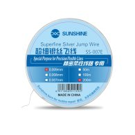 SUNSHINE SS-0.07E Fly Line Jump Wire  0.007MM 0.009MM 0.01MM 0.02MM  For Mobile Phone CPU Fingerprint Touch Repair Flying Line