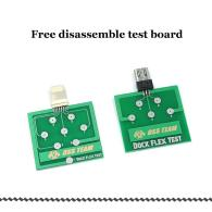 Micro USB Dock Flex Test Board for iPhone 6 7 8 And Android Phone U2 Battery Power Charging Dock Flex Easy Testing Tool