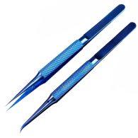 Titanium Alloy Tweezers Professional Maintenance Tools 0.15mm Edge Precision Fingerprint Tweezers iPhone Mainboard Copper Wire