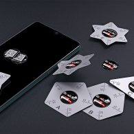 Qianli 5 Kinds 0.1mm Soft Metal Sheet mobile Phone LCD Screen Opening Picks Pry Tool