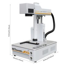 M-Triangel Fiber Laser 20W Auto Focus Engraving Machine for Phone X XS XSMAX 8 8P 11 Rear Glass Remove Laser Separating Machine