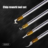 Multifunction Mobile Phone Repair 4 in 1 set IC Chip CPU Remover for iPhone Motherboard NAND Glue Removal BGA Repair Tools Kit